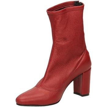 Schoenen Dames Enkellaarzen L'arianna NAPPA ELAST. rosso-rosso