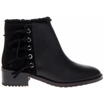 Schoenen Dames Low boots EMU Gladstone waterproof Zwart