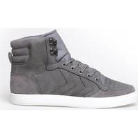 Schoenen Heren Hoge sneakers Hummel Heren Sneaker Stadil Winter Grijs/Antraciet/zilver