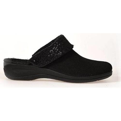 Schoenen Dames Sloffen Rohde  Zwart