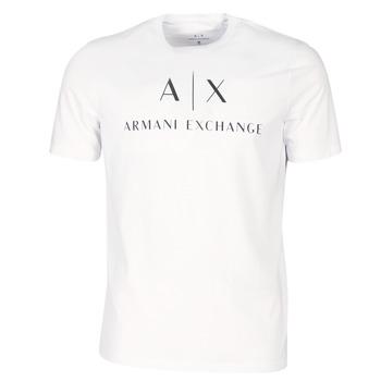 Textiel Heren T-shirts korte mouwen Armani Exchange 8NZTCJ-Z8H4Z-1100 Wit