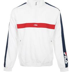 Textiel Heren Trainings jassen Fila Jona Woven Half Zip Jacket Wit