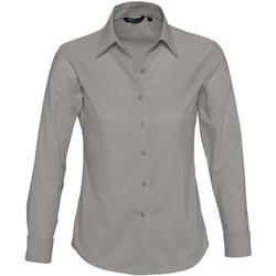 Textiel Dames Overhemden Sols EMBASSY OXFORD GIRL Plata
