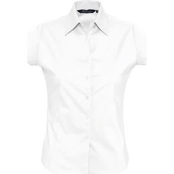 Textiel Dames Overhemden Sols EXCESS CASUAL WOMEN Blanco