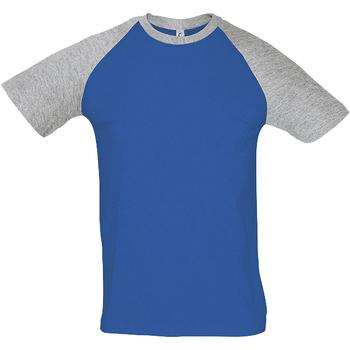 Textiel Heren T-shirts korte mouwen Sols FUNKY CASUAL MEN Multicolor