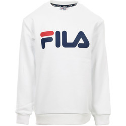 Textiel Kinderen Sweaters / Sweatshirts Fila Kids Classic Logo Crew Sweat Wit