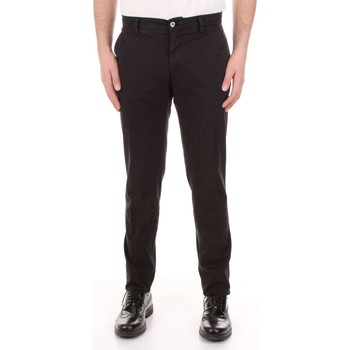 Textiel Heren 5 zakken broeken Mason's MILANO-CBE024 Nero