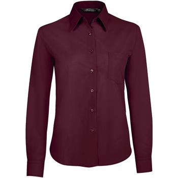 Textiel Dames Overhemden Sols EXECUTIVE POPELIN WORK violeta