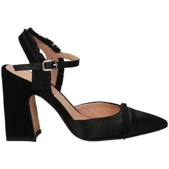 Schoenen Dames pumps Malù RASO E CAMOSCIO nero-nero