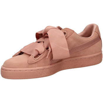 Schoenen Dames Lage sneakers Puma SUEDE HEART EP pbemb-rosa