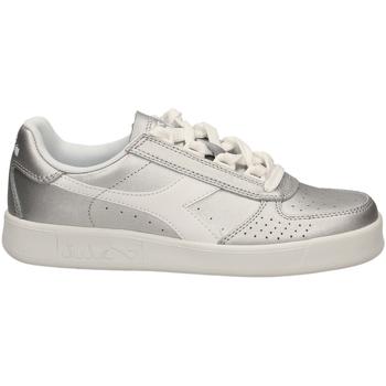 Schoenen Dames Lage sneakers Diadora B.ELITE L METALLIC W argme-argento