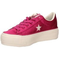 Schoenen Dames Lage sneakers All Star ONE STAR PLATFORM OX vberw-fuxia