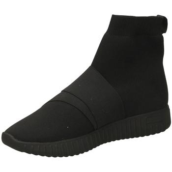 Schoenen Dames Hoge sneakers Fessura DINGHY KNIT black-nero