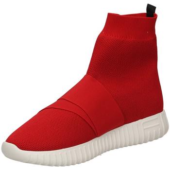 Schoenen Dames Hoge sneakers Fessura DINGHY KNIT red-rosso