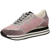 Schoenen Dames Lage sneakers Crime London FUGITIVE pink-rosa