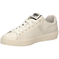 Schoenen Dames Lage sneakers Pony AURORA LEATHER a4-bianco