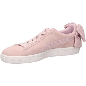 Schoenen Dames Lage sneakers Puma SUEDE BOW UPRISING orchi-rosa