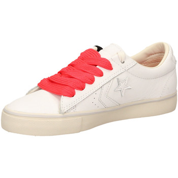 Schoenen Dames Lage sneakers All Star PRO LEATHER VULC OX white-bianco