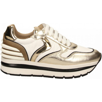 Schoenen Dames Lage sneakers Voile Blanche MAY POWER platino-bianco-sughero