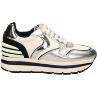 Schoenen Dames Lage sneakers Voile Blanche MAY POWER argento-bianco-nero