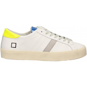 Schoenen Dames Lage sneakers Date HILL DOUBLE FLUO white-yellow