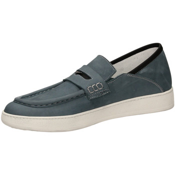 Schoenen Heren Mocassins Guardiani PHILO ka70-blu