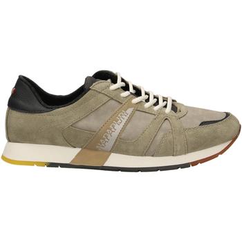 Schoenen Heren Lage sneakers Napapijri RABARI khaki-kaki