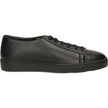 Schoenen Heren Lage sneakers Santoni TENNIS 6F+T.LIS+INF ydn01-nero
