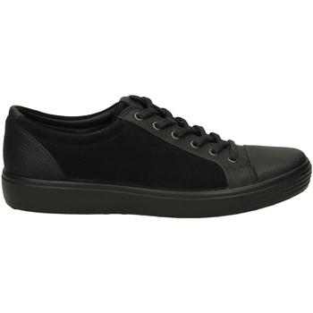Schoenen Heren Lage sneakers Ecco SOFT 7 MENS RUDO SPI black-nero