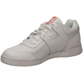 Schoenen Heren Lage sneakers Reebok Sport WORKOUT PLUS MU white-bianco