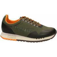 Schoenen Heren Lage sneakers Blauer DENVER01 - MAN MESH RUNNING mil-military-green