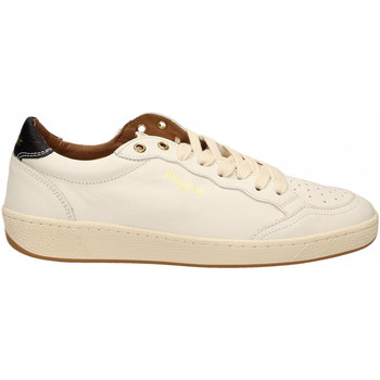 Schoenen Heren Lage sneakers Blauer MURRAY01 - MAN LEATHER SNEAKERS whi-white