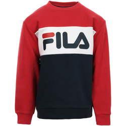 Textiel Kinderen Sweaters / Sweatshirts Fila Kids Night Blocked Crew Sweat Blauw