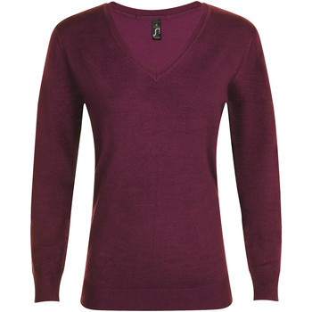 Textiel Dames Truien Sols GLORY SWEATER WOMEN violeta