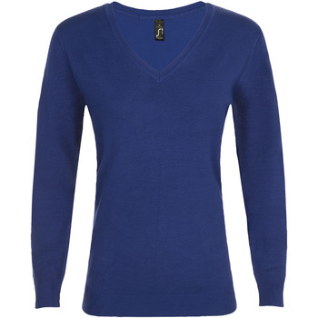Textiel Dames Truien Sols GLORY SWEATER WOMEN Azul