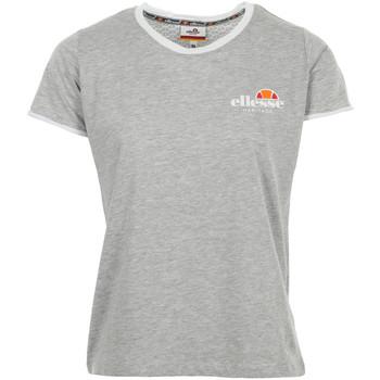 Textiel Dames T-shirts korte mouwen Ellesse T-Shirt Femme Col Rond Uni Grijs