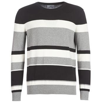 Textiel Heren Truien Casual Attitude LORISS Zwart / Grijs