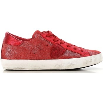 Schoenen Dames Lage sneakers Philippe Model CLLD XM89 rosso