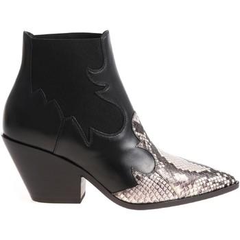 Schoenen Dames Enkellaarzen Casadei 1Q613L0601X496E45 nero