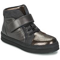 Schoenen Meisjes Lage sneakers Unisa CALATA Grijs / Zwart