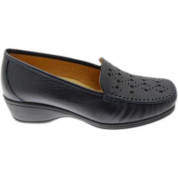 Schoenen Dames Mocassins Calzaturificio Loren LOK4002bl blu