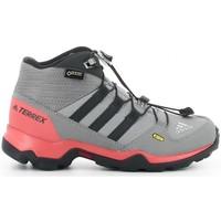 Schoenen Jongens Laarzen adidas Originals TERREX MID GTX K gris Gris