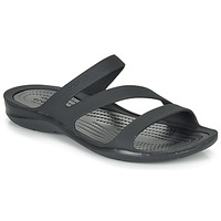 Schoenen Dames Sandalen / Open schoenen Crocs SWIFTWATER SANDAL W Zwart