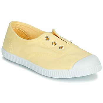 Schoenen Meisjes Sandalen / Open schoenen André LES VACANCES Geel