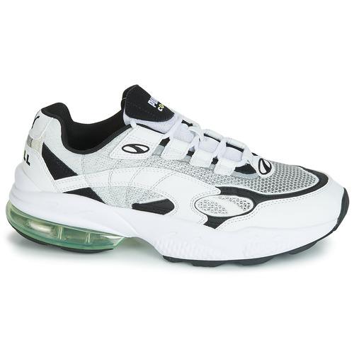 Puma CELL VENOM Wit / Zwart - Gratis levering  Schoenen Lage sneakers Heren