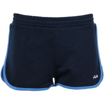Textiel Dames Korte broeken / Bermuda's Fila Wn's Paige Jersey Shorts Blauw