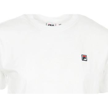Textiel Dames T-shirts korte mouwen Fila Wn's Nova Cropped Tee SS Wit