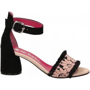 Schoenen Dames Sandalen / Open schoenen Le Babe TESSA JACQUAR rosa