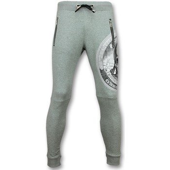Textiel Heren Trainingsbroeken Enos Casual Joggingbroek Heren -  Trainingsbroek Print Skull 35