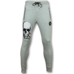 Textiel Heren Trainingsbroeken Enos Trainingsbroek -  Sweatpants  Color Skull - Grijs